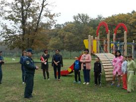 тренировка по пожарной безопасности