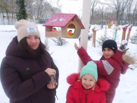 -акция Покорми птиц зимой